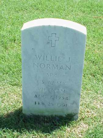 NORMAN (VETERAN VIET), WILLIE J - Pulaski County, Arkansas | WILLIE J NORMAN (VETERAN VIET) - Arkansas Gravestone Photos