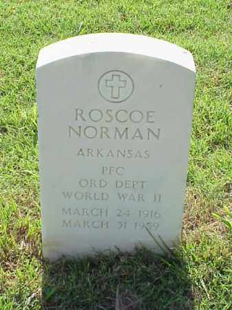 NORMAN (VETERAN WWII), ROSCOE - Pulaski County, Arkansas | ROSCOE NORMAN (VETERAN WWII) - Arkansas Gravestone Photos