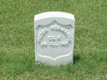 NORMANDO (VETERAN UNION), VICTOR - Pulaski County, Arkansas | VICTOR NORMANDO (VETERAN UNION) - Arkansas Gravestone Photos