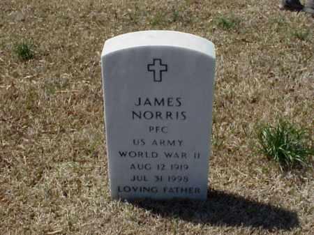 NORRIS (VETERAN WWII), JAMES - Pulaski County, Arkansas | JAMES NORRIS (VETERAN WWII) - Arkansas Gravestone Photos