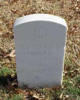 NORRIS (VETERAN WWII), RICHARD L - Pulaski County, Arkansas | RICHARD L NORRIS (VETERAN WWII) - Arkansas Gravestone Photos