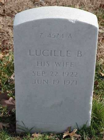 NORTH, LUCILLE B - Pulaski County, Arkansas | LUCILLE B NORTH - Arkansas Gravestone Photos