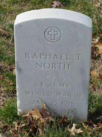 NORTH (VETERAN WWII), RAPHAEL T - Pulaski County, Arkansas | RAPHAEL T NORTH (VETERAN WWII) - Arkansas Gravestone Photos