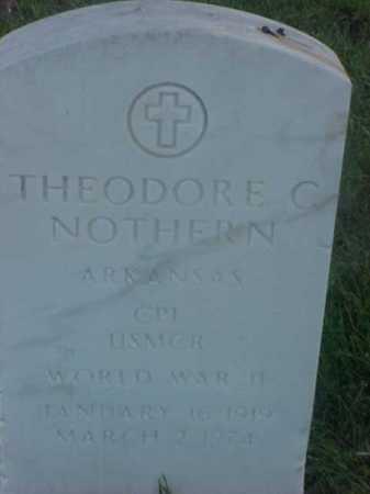 NOTHERN (VETERAN WWII), THEODORE COTHERN - Pulaski County, Arkansas | THEODORE COTHERN NOTHERN (VETERAN WWII) - Arkansas Gravestone Photos