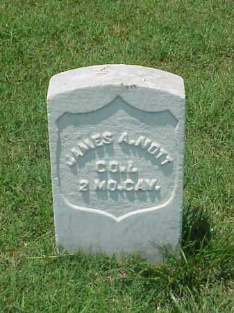 NOTT (VETERAN UNION), JAMES A - Pulaski County, Arkansas | JAMES A NOTT (VETERAN UNION) - Arkansas Gravestone Photos