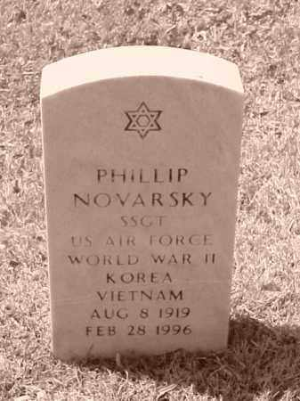 NOVARSKY (VETERAN 3 WARS), PHILLIP - Pulaski County, Arkansas | PHILLIP NOVARSKY (VETERAN 3 WARS) - Arkansas Gravestone Photos