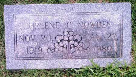NOWDEN, JURLENE C. - Pulaski County, Arkansas | JURLENE C. NOWDEN - Arkansas Gravestone Photos