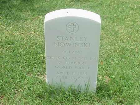 NOWINSKI (VETERAN WWI), STANLEY - Pulaski County, Arkansas | STANLEY NOWINSKI (VETERAN WWI) - Arkansas Gravestone Photos