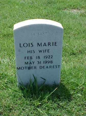 NUNN, LOIS MARIE - Pulaski County, Arkansas | LOIS MARIE NUNN - Arkansas Gravestone Photos