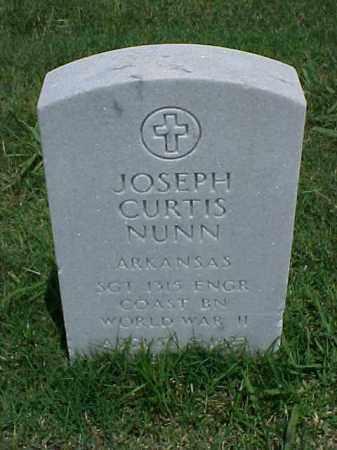 NUNN (VETERAN WWII), JOSEPH CURTIS - Pulaski County, Arkansas | JOSEPH CURTIS NUNN (VETERAN WWII) - Arkansas Gravestone Photos