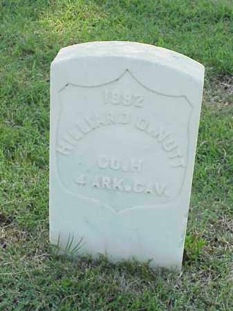 NUTT (VETERAN UNION), HILLIARD  D - Pulaski County, Arkansas | HILLIARD  D NUTT (VETERAN UNION) - Arkansas Gravestone Photos