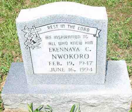NWOKORO, EKENNAYA C - Pulaski County, Arkansas | EKENNAYA C NWOKORO - Arkansas Gravestone Photos