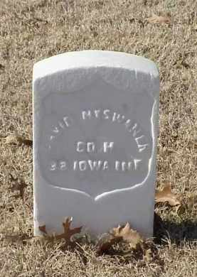 NYSWANER (VETERAN UNION), DAVID - Pulaski County, Arkansas | DAVID NYSWANER (VETERAN UNION) - Arkansas Gravestone Photos