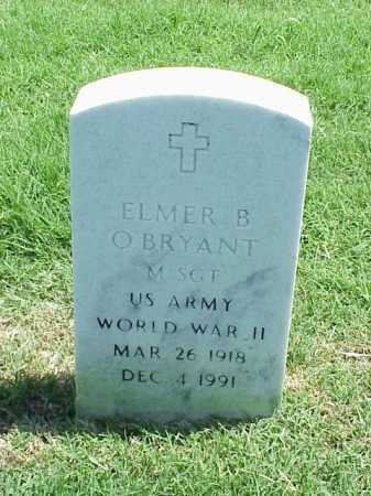 O BRYANT (VETERAN WWII), ELMER B - Pulaski County, Arkansas | ELMER B O BRYANT (VETERAN WWII) - Arkansas Gravestone Photos