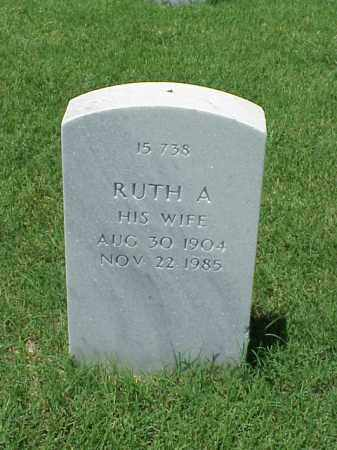 OAKMAN, RUTH A - Pulaski County, Arkansas | RUTH A OAKMAN - Arkansas Gravestone Photos