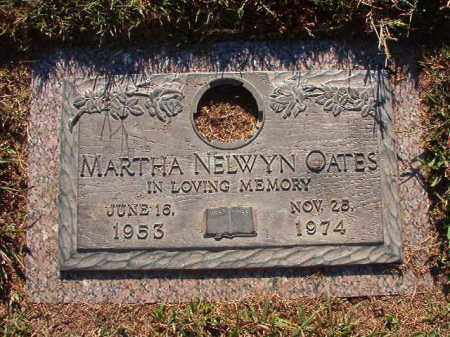 OATES, MARTHA NELWYN - Pulaski County, Arkansas | MARTHA NELWYN OATES - Arkansas Gravestone Photos