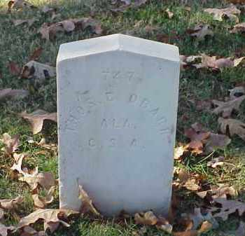 OBARR (VETERAN CSA), THOMAS E - Pulaski County, Arkansas | THOMAS E OBARR (VETERAN CSA) - Arkansas Gravestone Photos