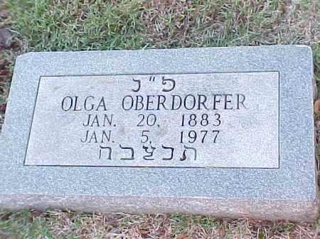 OBERDORFER, OLGA - Pulaski County, Arkansas | OLGA OBERDORFER - Arkansas Gravestone Photos