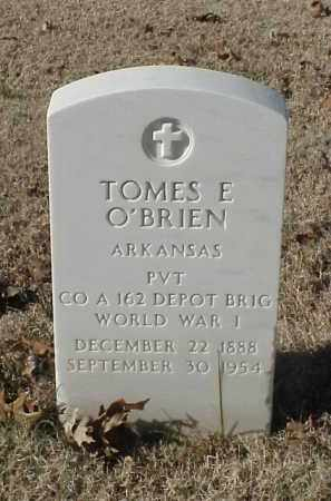 O'BRIEN (VETERAN WWI), TOMES E - Pulaski County, Arkansas | TOMES E O'BRIEN (VETERAN WWI) - Arkansas Gravestone Photos