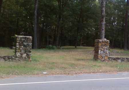 *ODD FELLOWS CEMETERY ENTRANCE,  - Pulaski County, Arkansas |  *ODD FELLOWS CEMETERY ENTRANCE - Arkansas Gravestone Photos
