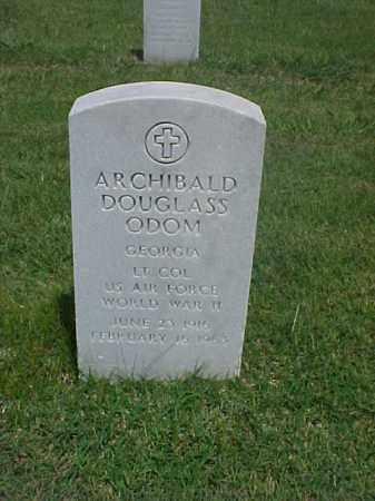 ODOM (VETERAN WWII), ARCHIBALD DOUGLASS - Pulaski County, Arkansas | ARCHIBALD DOUGLASS ODOM (VETERAN WWII) - Arkansas Gravestone Photos