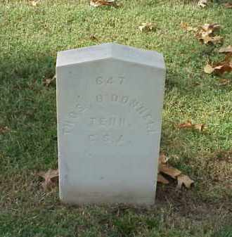 O'DONNNELL (VETERAN CSA), THOMAS - Pulaski County, Arkansas | THOMAS O'DONNNELL (VETERAN CSA) - Arkansas Gravestone Photos