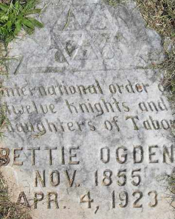 OGDEN, BETTIE - Pulaski County, Arkansas | BETTIE OGDEN - Arkansas Gravestone Photos