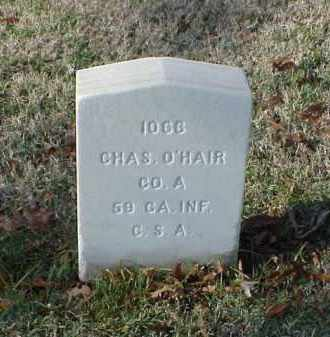 O'HAIR (VETERAN CSA), CHARLES - Pulaski County, Arkansas | CHARLES O'HAIR (VETERAN CSA) - Arkansas Gravestone Photos