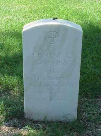 O'HARA (VETERAN WWII), ERNEST C - Pulaski County, Arkansas | ERNEST C O'HARA (VETERAN WWII) - Arkansas Gravestone Photos