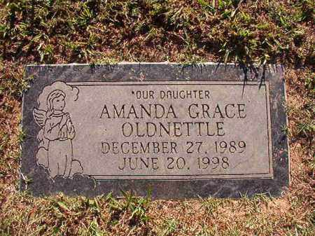 OLDNETTLE, AMANDA GRACE - Pulaski County, Arkansas | AMANDA GRACE OLDNETTLE - Arkansas Gravestone Photos
