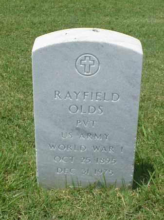 OLDS (VETERAN WWI), RAYFIELD - Pulaski County, Arkansas | RAYFIELD OLDS (VETERAN WWI) - Arkansas Gravestone Photos
