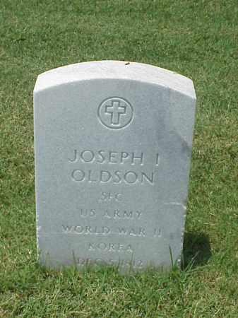 OLDSON (VETERAN 2 WARS), JOSEPH I - Pulaski County, Arkansas | JOSEPH I OLDSON (VETERAN 2 WARS) - Arkansas Gravestone Photos