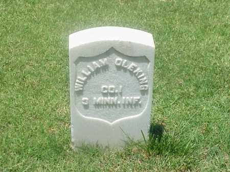 OLEKING (VETERAN UNION), WILLIAM - Pulaski County, Arkansas | WILLIAM OLEKING (VETERAN UNION) - Arkansas Gravestone Photos
