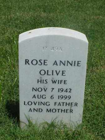 OLIVE, ROSE ANNIE - Pulaski County, Arkansas | ROSE ANNIE OLIVE - Arkansas Gravestone Photos