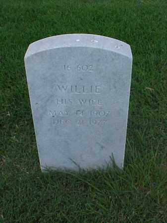 OLIVE, WILLIE - Pulaski County, Arkansas | WILLIE OLIVE - Arkansas Gravestone Photos