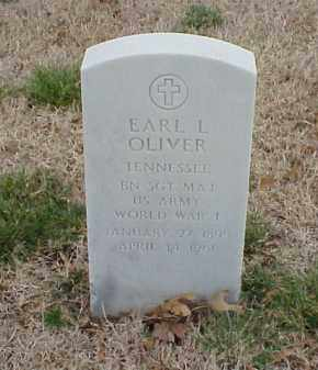 OLIVER  (VETERAN WWI), EARL L - Pulaski County, Arkansas | EARL L OLIVER  (VETERAN WWI) - Arkansas Gravestone Photos