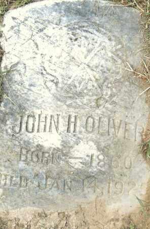 OLIVER, JOHN H - Pulaski County, Arkansas | JOHN H OLIVER - Arkansas Gravestone Photos
