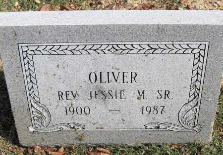 OLIVER, SR, JESSIE M - Pulaski County, Arkansas | JESSIE M OLIVER, SR - Arkansas Gravestone Photos