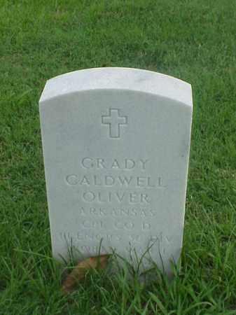 OLIVER (VETERAN  WWI), GRADY CALDWELL - Pulaski County, Arkansas | GRADY CALDWELL OLIVER (VETERAN  WWI) - Arkansas Gravestone Photos