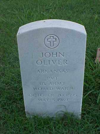 OLIVER (VETERAN WWI), JOHN - Pulaski County, Arkansas | JOHN OLIVER (VETERAN WWI) - Arkansas Gravestone Photos