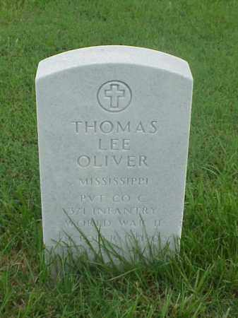 OLIVER (VETERAN WWII), THOMAS LEE - Pulaski County, Arkansas | THOMAS LEE OLIVER (VETERAN WWII) - Arkansas Gravestone Photos