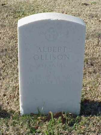 OLLISON (VETERAN WWI), ALBERT - Pulaski County, Arkansas | ALBERT OLLISON (VETERAN WWI) - Arkansas Gravestone Photos