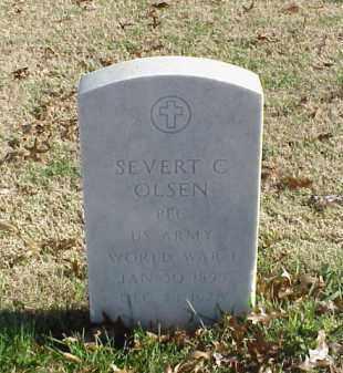 OLSEN (VETERAN WWI), SEVERT C - Pulaski County, Arkansas | SEVERT C OLSEN (VETERAN WWI) - Arkansas Gravestone Photos
