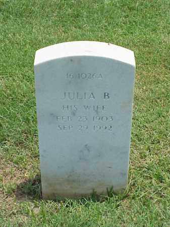 OLSON, JULIA B - Pulaski County, Arkansas | JULIA B OLSON - Arkansas Gravestone Photos