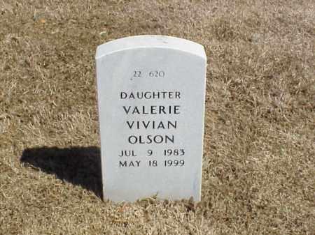 OLSON, VALERIE VIVIAN - Pulaski County, Arkansas | VALERIE VIVIAN OLSON - Arkansas Gravestone Photos