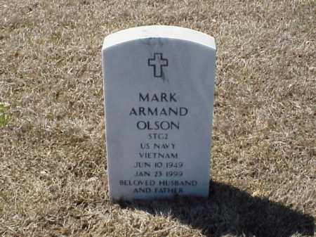 OLSON (VETERAN VIET), MARK ARMAND - Pulaski County, Arkansas | MARK ARMAND OLSON (VETERAN VIET) - Arkansas Gravestone Photos