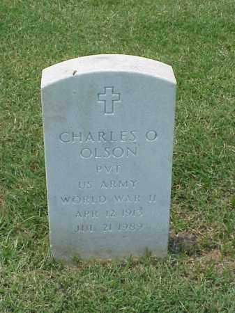 OLSON (VETERAN WWII), CHARLES O - Pulaski County, Arkansas | CHARLES O OLSON (VETERAN WWII) - Arkansas Gravestone Photos