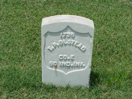 OLSTEAD (VETERAN UNION), T P - Pulaski County, Arkansas | T P OLSTEAD (VETERAN UNION) - Arkansas Gravestone Photos