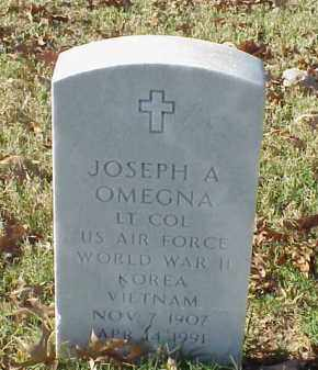OMEGNA (VETERAN 3 WARS), JOSEPH A - Pulaski County, Arkansas | JOSEPH A OMEGNA (VETERAN 3 WARS) - Arkansas Gravestone Photos