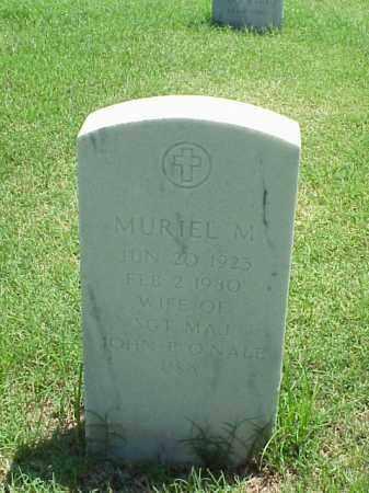 O'NALE, MURIEL M - Pulaski County, Arkansas | MURIEL M O'NALE - Arkansas Gravestone Photos
